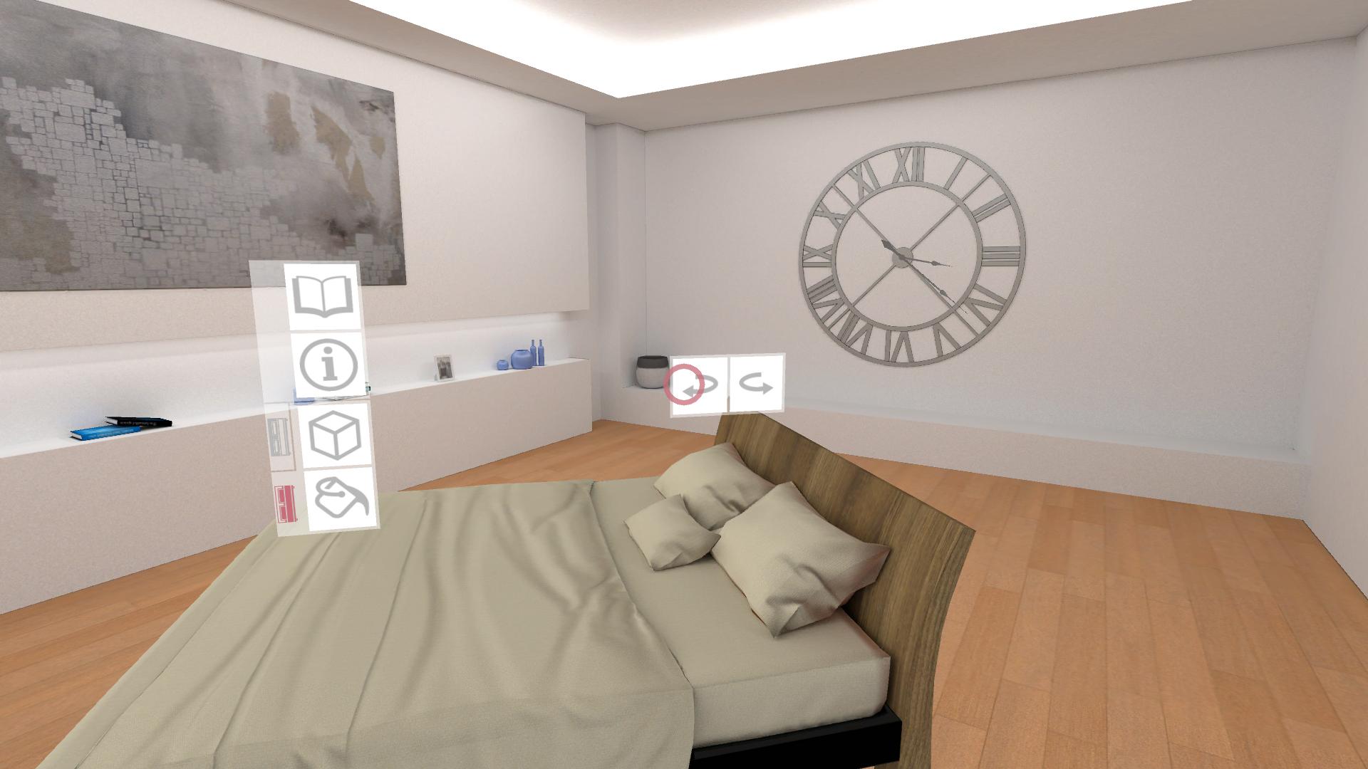 catalogo virtuale letto legno beige