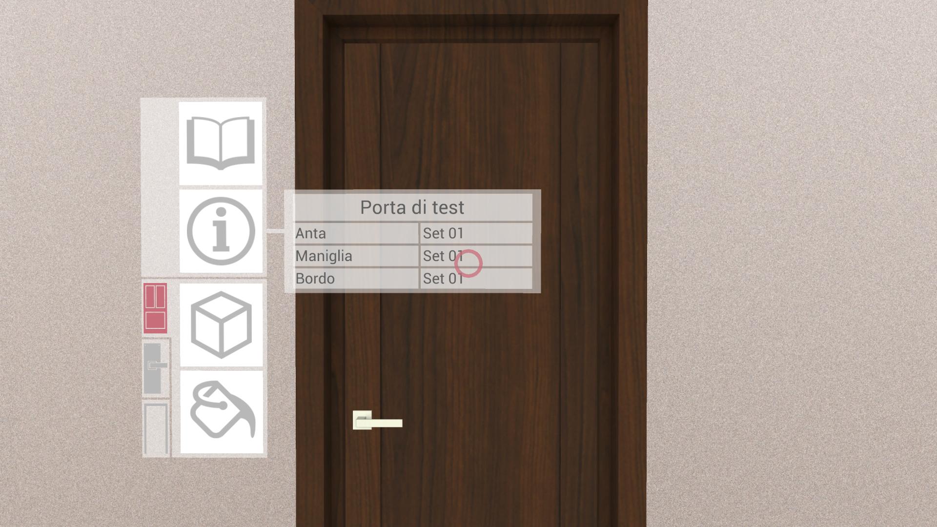 catalogo virtuale porta legno mogano